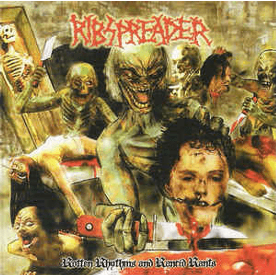 Ribspreader – Rotten Rhythms And Rancid Rants (A Collection Of Undead Spew) CD