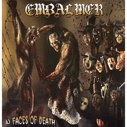 Embalmer – 13 Faces Of Death CD
