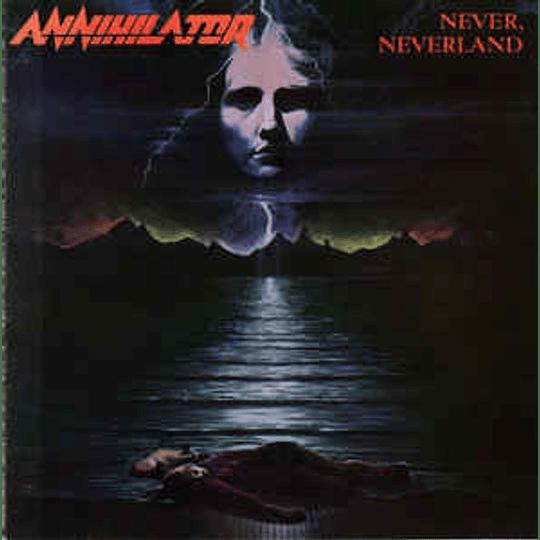 Annihilator  – Never, Neverland CD