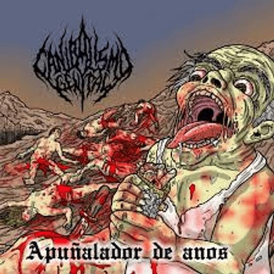 Canibalismo Genital - Apuñalador De... CD,Dig