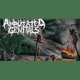 Amputated Genitals – Origin Of Murder CD