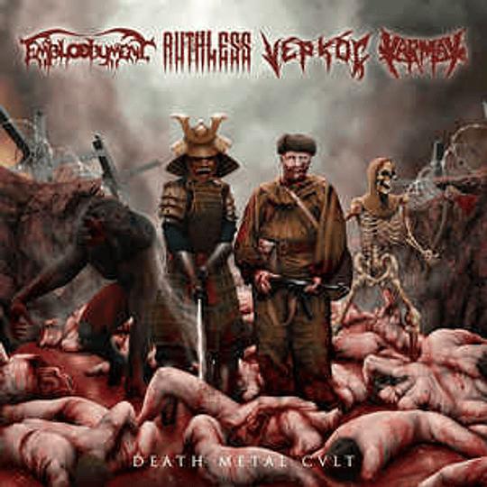 Karmak, Embloodyment, Ruthless , Vepkoç – Death metal Cult CD