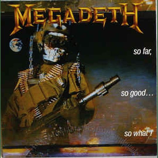Megadeth – So Far, So Good... So What! CD
