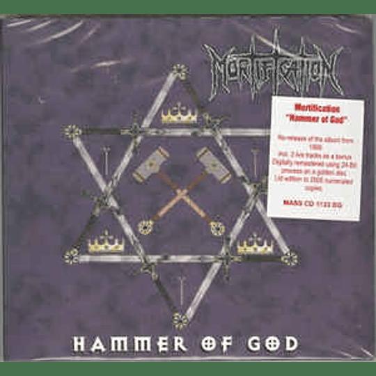 Mortification – Hammer Of God CD,Dig
