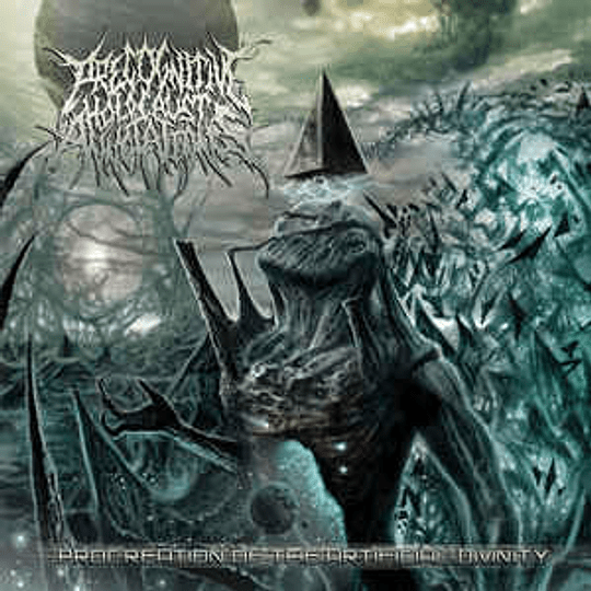 Precognitive Holocaust Annotations – Procreation Of The Artificial Divinity CD,Dig