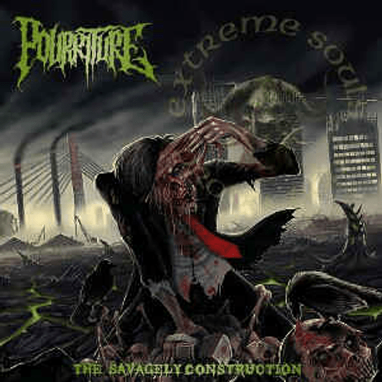 Pourriture – The Savagely Construction CD