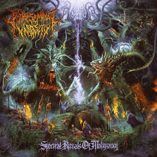 PUTRESEMINAL VISCOSITY – Spectral Rituals Of Malignancy CD
