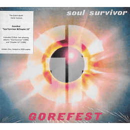Gorefest – The Ultimate Collection Part 3 - Soul Survivor & Chapter 13 + Bonus 2CDS, Dig