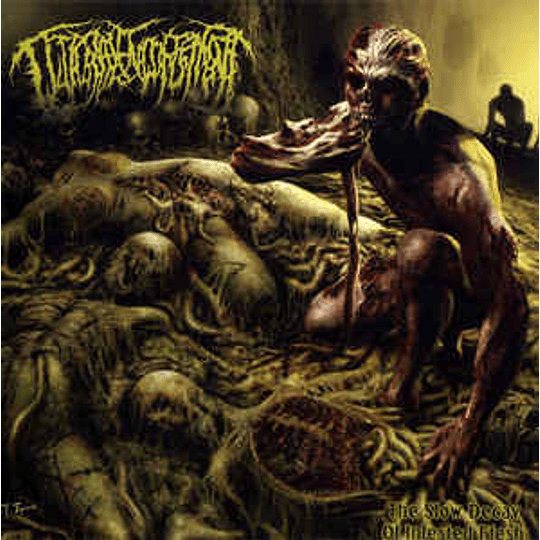 Guttural Engorgement – The Slow Decay Of Infested Flesh CD