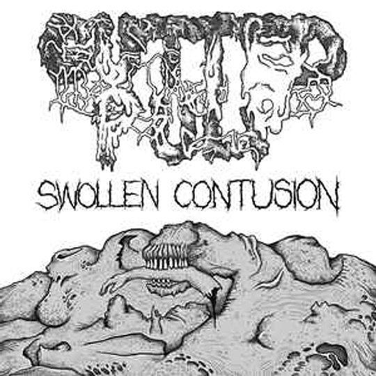 Gutted Pulp – Swollen Contusion CD