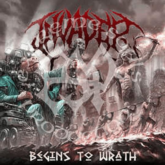 Invader  – Begins to Wrath CD