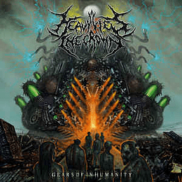 Heavy Lies The Crown – Gears Of Inhumanity CD