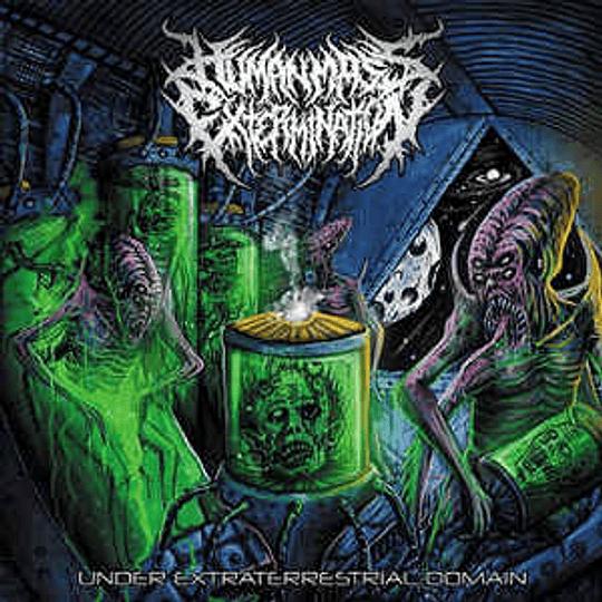 Human Mass Extermination – Under Extraterrestrial Domain CD