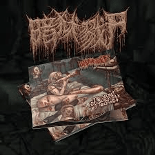 The Dark Prison Massacre – The Secret Of Black Silk Stockings CD,Dig 2