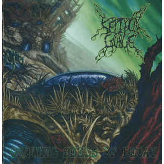 Septycal Gorge – Growing Seeds Of Decay CD,Dig