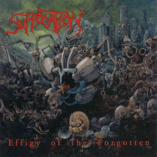 Suffocation – Effigy Of The Forgotten / Human Waste CD