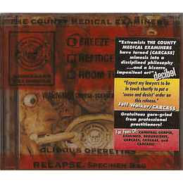 The County Medical Examiners – Olidous Operettas CD