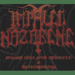 Impaled Nazarene – Suomi Finland Perkele & Motörpenis CD,Dig