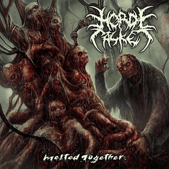 Horde Casket - Melted Together CD, Dig