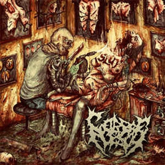 Corpseflesh – Tattooed By A Blowtorch CD