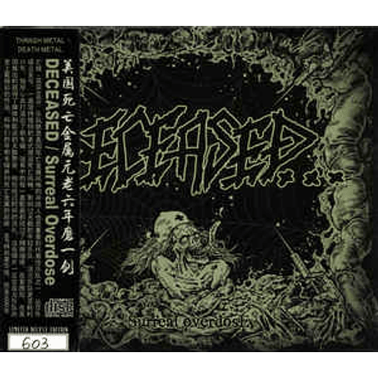Deceased – Surreal Overdose CD