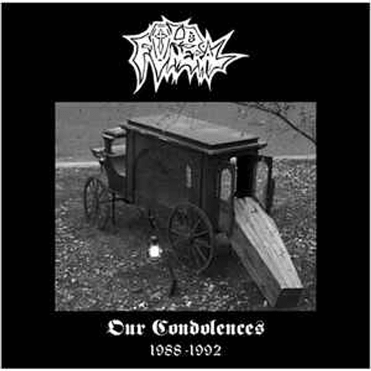 Old Funeral – Our Condolences 1988-1992 2CDS