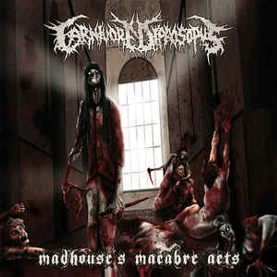 Carnivore Diprosopus – Madhouse's Macabre Acts CD + DVD