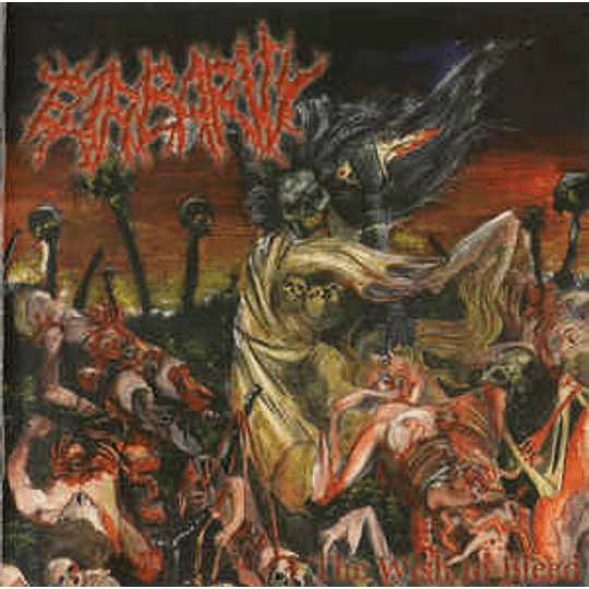 Barbarity – The Wish To Bleed CD