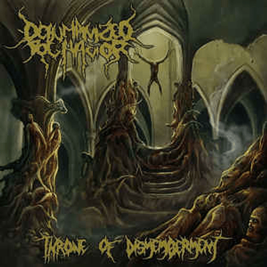 Dehumanized Behavior – Throne Of Dismemberment CD