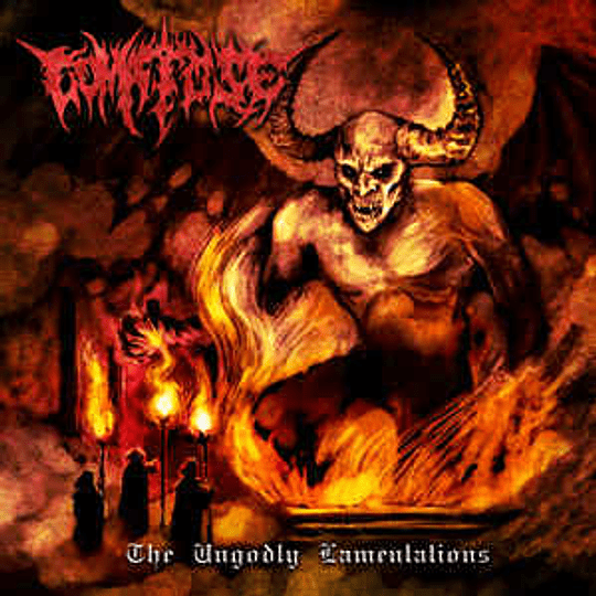 Comatose  – The Ungodly Lamentations CD