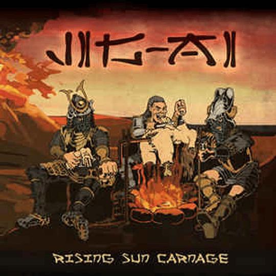 Jig-Ai – Rising Sun Carnage CD