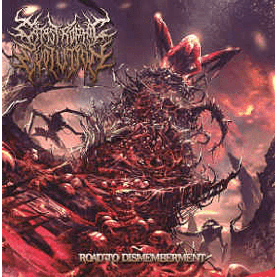 Catastrophic Evolution – Road To Dismemberment CD