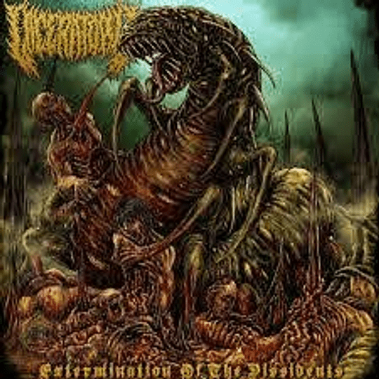 Laceratory -Extermination of the Dissidents CD