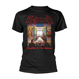 EXHORDER SLAUGHTER IN THE VATICAN  T-SHIRT SIZE XL