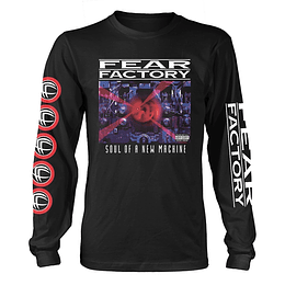 FEAR FACTORY SOUL OF A NEW MACHINE LONG SLEEVE SIZE L
