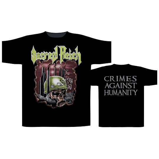 Sacred Reich 'Crimes Against Humanity' T-Shirt SIZE M