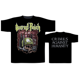 Sacred Reich 'Crimes Against Humanity' T-Shirt SIZE XL