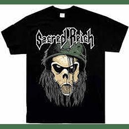 Sacred Reich Od T Shirt SIZE L