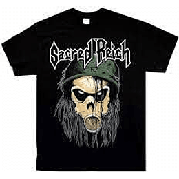 Sacred Reich Od T Shirt SIZE XL