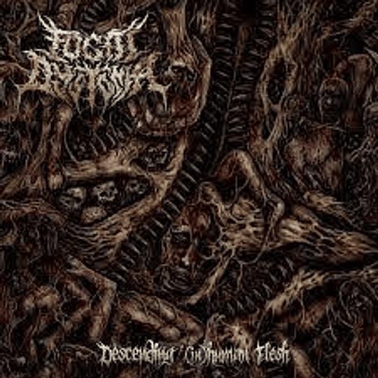 FOCAL DYSTONIA- Descending (in)Human Flesh CD