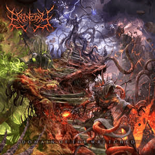 Organectomy – Domain Of The Wretched CD