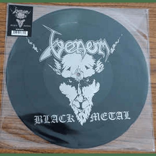 Venom  – Black Metal PICLP