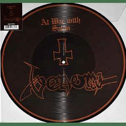 Venom  – At War With Satan PICLP