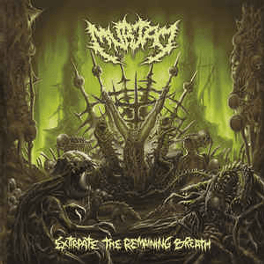 Murtad – Extirpate The Remaining Breath CD