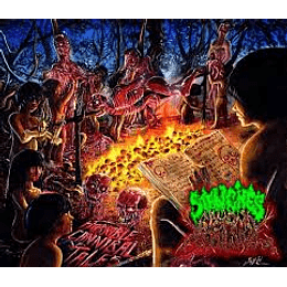 Stenches Beyond Repulsive - Horrible Cannibal Tales CD