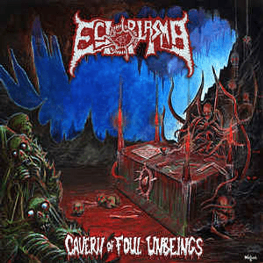 Ectoplasma  – Cavern of Foul Unbeings CD