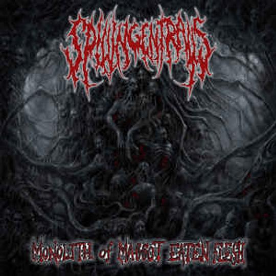Spilling Entrails – Monolith Of Maggot CD