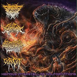 Virulent Excision, Facelift Deformation, Gravitational Distortion, Gerogot – Heinous Interstellar Malformations CD