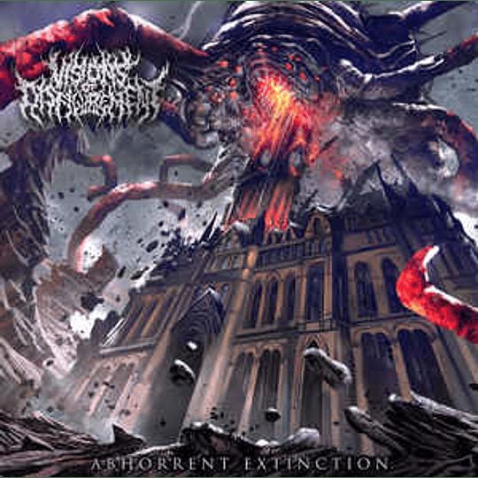 Visions Of Disfigurement – Abhorrent Extinction CD