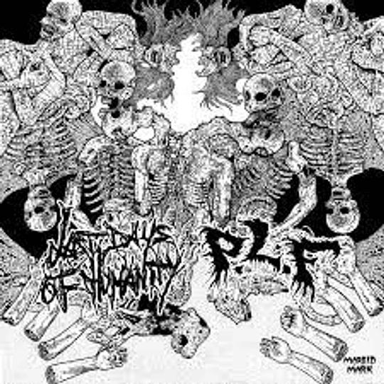 P.L.F / LAST DAYS OF HUMANITY - Split DigiCD Double